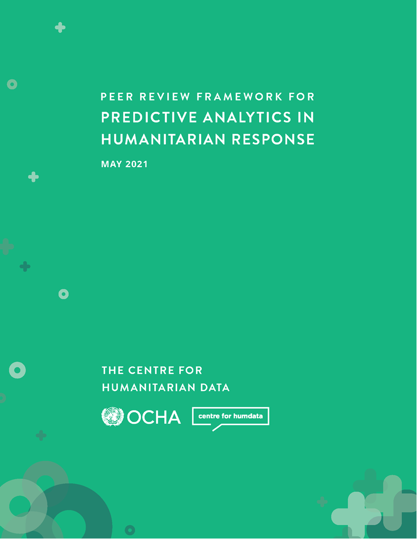 Cover page of the Peer Review Framework